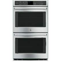 GE CT9550SHSS Caf  Series 30  Built In Double Convection Wall Oven