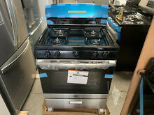 GE 4 8 cu  ft  Gas Single Oven Range in Stainless Steel 4 Burners JGBS30REK2SS