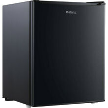 Galanz 2 7 Cu Ft Single Door Mini Fridge GL27BK  Black