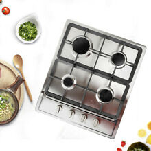 Built In 4 Burners Stove Top Gas Cooktop Cooking Natural Gas Electronic Ignition