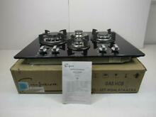 Empava 24  Tempered Glass Gas Cooktop w  4 Burners Italy Imported Sabaf   VIEW