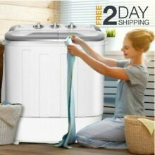 Top Load Washer And Dryer Set All In One Combo Compact Machine Apartment Size