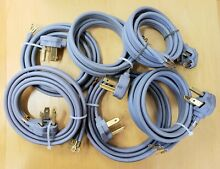 6 pcs  GE  6 foot 3 Wire 30 Amp Dryer Cord WX09X10004