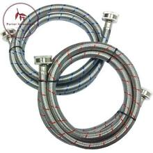 3 4 In  X 3 4 In  X 5 Ft  Stainless Steel Washing Machine Hose  2 Pack