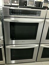 LG LWD3063ST 30  Built In Double Electric Convection Wall Oven   Stainless steel