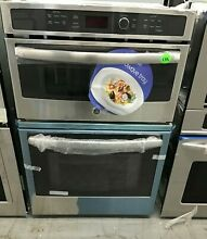 GE JK3800SHSS 27  Built In Combination Microwave Thermal Wall Oven