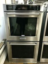 KitchenAid KODE307ESS 27  Double Electric Wall Oven Self Cleaning w  Convection