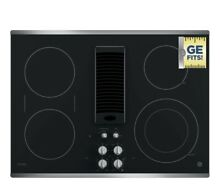 30 GE Electric Cooktop With Downdraft
