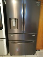 Samsung RF28R7351DT 36 Inch 5Door Refrigerator with 28 Cu  Ft  Capacity