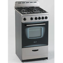 AVANTI GR2013CSS 20  Gas Range Sealed Burners  Stainless Steel