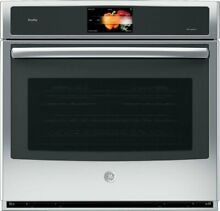 GE Profile PT9051SLSS 30  Single Electric Convection Wall Oven Stainless Steel