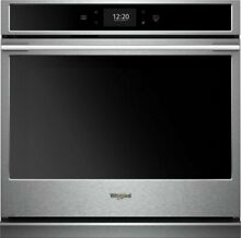 Whirlpool WOSA2EC0HZ 30  Single Electric Convection Wall Oven Stainless steel
