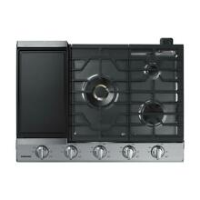 Samsung NA30N7755TS 30 in  Gas Cooktop in Stainless Steel with 5 Burners