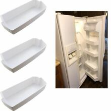 3PCS Door Shelves Bin For Fridge Kenmore Amana Frigidaire Whirlpool Side By Side