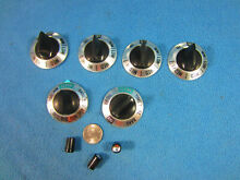 GE OEM P7 Range  Oven Parts Lot Vintage matched set Knobs 2770399P002