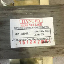 High VOLTAGE Microwave Transformer MD 111HMR 1 Fits Various Microwaves