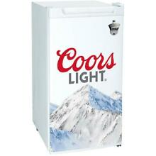 Coors Light 3 2 Cubic Foot  90L  Compact Fridge with Bottle Opener
