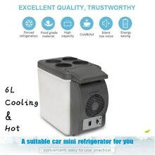 Portable Electric Car Mini Fridge Refrigerator Cooler Warmer Travel Camping Box