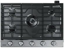Samsung Premium 30 in 5 Burners Stainless Steel Gas Cooktop NEW