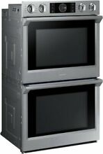 Samsung NV51K7770DS AA 5 1 cu ft  Double Electric Wall Oven w Flex Duo