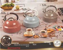 Stainless Steele Stove top Kettle  5 0 L Induction Whistling Stove Kettle