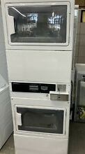 Maytag Commercial   MLG26PRKWW  stacked Dryer on Dryer Laundry Center