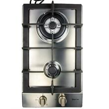 Magic Chef 12 in  Gas Cooktop in Stainless Steel with 2 Burners