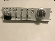 Washing Machine User Control and Display Board 137006000 134848200 134345500  I9