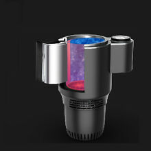 Car mini small USB refrigeration refrigerator cold and warm 12V freezing can be