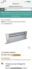 36  Bosch Downdraft Vent   New On Box