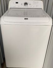Maytag bravos washer and gas dryer  white great condition
