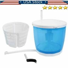 Hand operated Mini Washing Machine Compact Traveling Outdoor Spin Dryer Portable