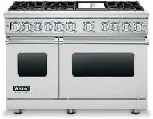 Viking 7 Series VDR7486GSSLP 48  Pro Style Dual Fuel Range with Liquid Propane