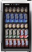 Frigidaire 126 Can Stainless Steel Beverage Center  4 4 cu  Ft Open Box