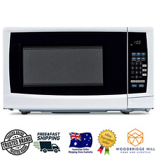 White Microwave 20L  Child Safety lock 6 Auto Cooking Settings With 10 Power Lvl
