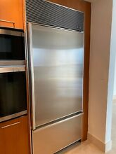 Sub Zero Built in Model 650  36 inch wide and 84 inch tall