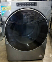 Whirlpool 27  Steam Sanitize Energy Star Front Load Gas Dryer WGD6620HC GAS131