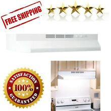 Non Ducted Under Cabinet Ductless Range Hood Insert 36 In Exhaust Cleaner White