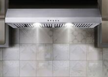Kitchen Range Hood 30 Over Stove Ductless Vent Under Cabinet LED Stainless Steel