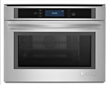 Jenn Air Euro Style JBS7524BS 24  Single Steam Electric Oven in Stainless Steel