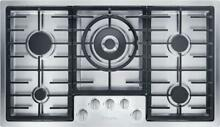 Miele KM2355G 36  Natural Gas Cooktop with 5 Sealed Burners in Stainless Steel