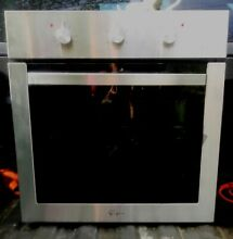 Empava 24  Electric Single Wall Oven Stainless Steel Built in Knob Control