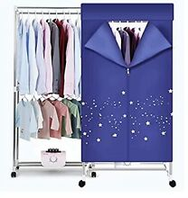 Clothes Dryer 1000W Portable Drying Rack  Double layer Small Electric Wardrobe