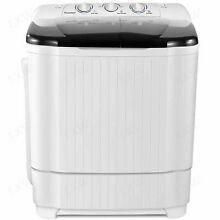 22LBS Compact Portable Washing Machine Twin Tubs Spiner Dryer Laundry Washer