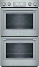 Thermador Stainless 30  Convection Double Oven POD302W 01