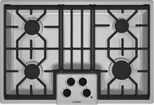 Bosch NGM5054UC 01 30  Stainless 4 Sealed Burners Cooktop