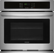 Frigidaire FFEW3026TS 30  Single Electric Wall Oven Stainless Steel SelfCleaning