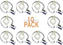 10 PACK  285790 AP3094538 PS334642 Washer Clutch Band   Lining Kit for Whirlpoo