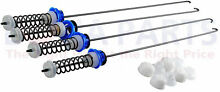 Genuine OEM Whirlpool W10820048 Cabrio W10189077 4PK Rod Suspension Kit