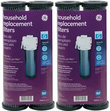 FXWTC 2  2 PAK  of GE Water Filter FXWTC Household Sediment Carbon Charcoal